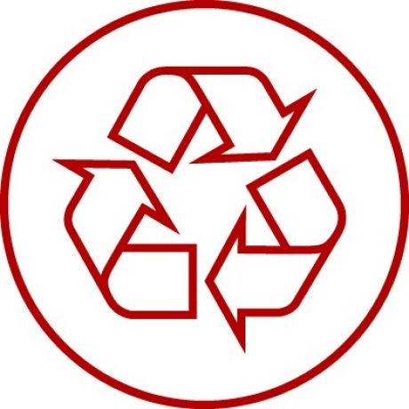 Icon for recycling, re-use